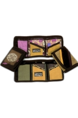 <h5>3-Fold Wallets</h5><p>Folks peek over your shoulder in the grocery line, but not at the cash!</p>